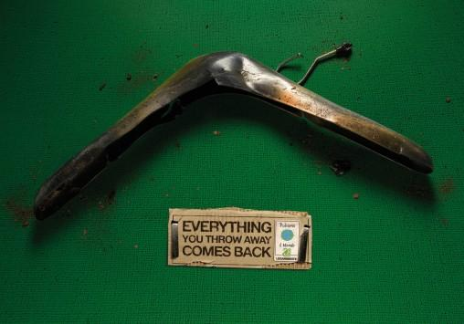 boomerang Everything you throw away comes back
