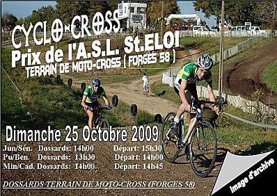 JGSN-Cyclo-cross de MOUSSY et St ELOI les 18 et 25 Octobre