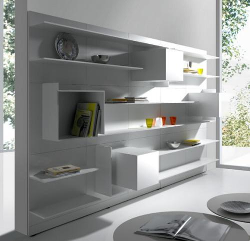 8 modules blancs d am nagement rangement by mdf italia paperblog. Black Bedroom Furniture Sets. Home Design Ideas