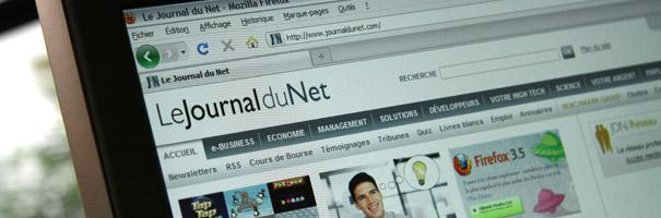 Veosearch dans le Journal du Net