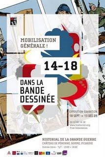 Exposition Mobilisation Générale ! 14-18 dans la bande dessinée