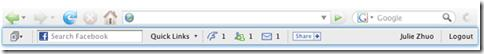 image thumb14 Facebook Toolbar pour Firefox