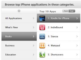 Apple : 2 milliards de téléchargements d'applications, Jobs aime