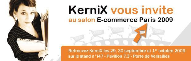 KerniX vous invite au salon E-commerce