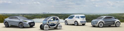 gamme renault ze La gamme de voitures 100 % électriques de Renault