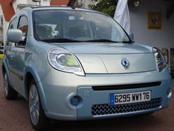 proto kangoo ze 1 La gamme de voitures 100 % électriques de Renault