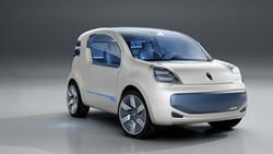kangoo 1 La gamme de voitures 100 % électriques de Renault