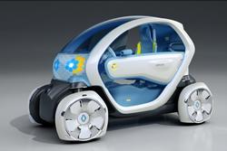 twizy 1 La gamme de voitures 100 % électriques de Renault
