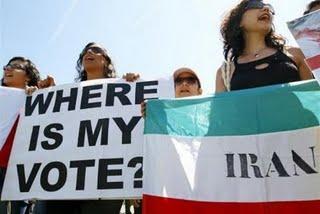 Iran une menace!