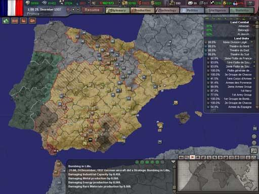Hearts of Iron 3 : Vive la France ! A french AAR (2nde partie)