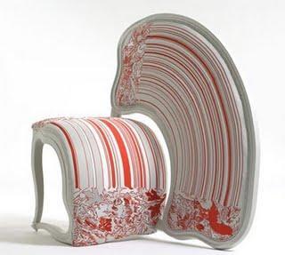 Sebastian Brajkovic : amazing siamise chairs...