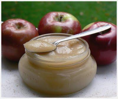 Compote de pommes à l'érable