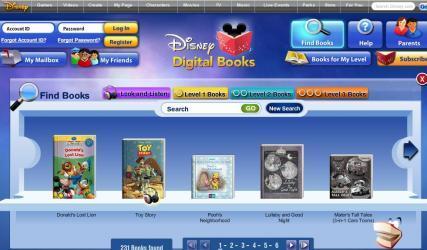 Disney fait lire les enfants sur internet et par abonnement