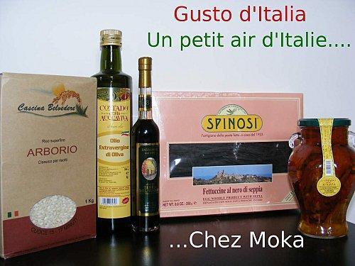 Saveurs d'Italie au rendez-vous ChezMoka.