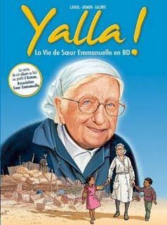 Yalla ! La vie de Sœur Emmanuelle en Bd