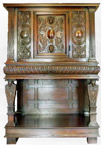 histoire du meuble i renaissance paperblog. Black Bedroom Furniture Sets. Home Design Ideas