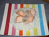 Tourte feuilletée au saumon et à la cancoillotte