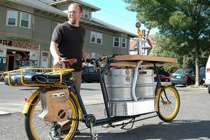 Vélo à bière