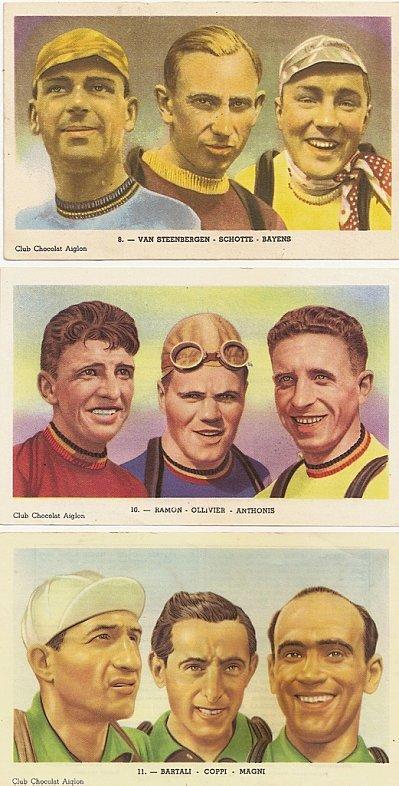 Photos de coureurs des années 50-60 de Jean-Claude MARTIN
