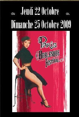Paris burlesque festival