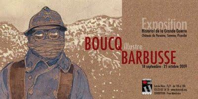 Exposition Boucq illustre Le Feu de Barbusse
