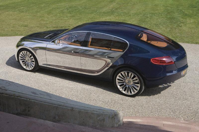 Bugatti présente la 16C Galibier
