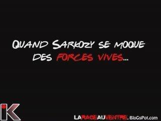 Quand Sarkozy se moque des forces vives...