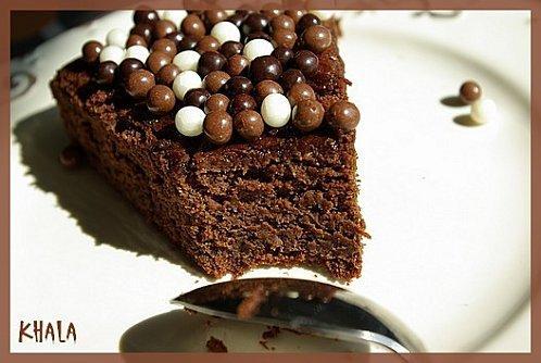 gâteau hyper léger au chocolat et aux courgettes ... si si !