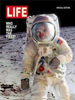 Guy Laliberté dans l'espace,les premières images
