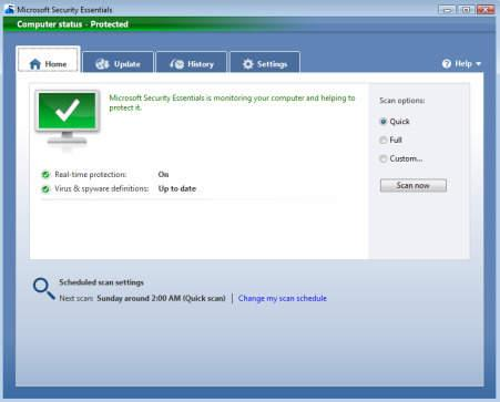 Microsoft Security Essentials : l'antivirus gratuit est disponible