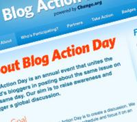 Blog Action Day 2009 : le Changement climatique en question