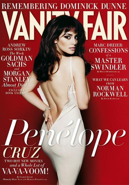 Penelope Cruz exhibe ses formes dans Vanity Fair