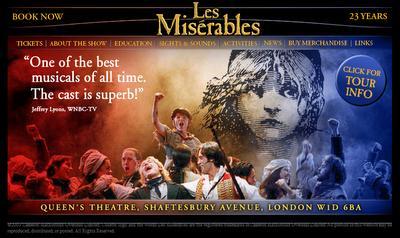 Les Misérables reviennent à Paris en 2010