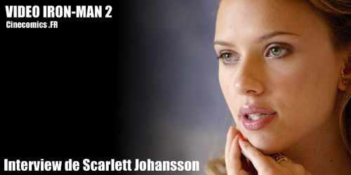 Scarlett Johansson interview Iron-man 2