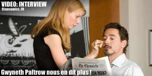 Gwyneth Paltrow interview Iron-man 2