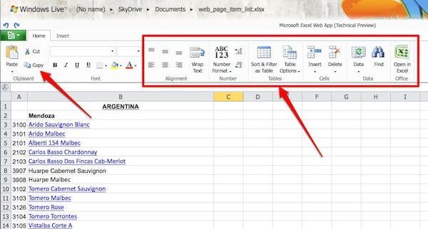 microsoft office web apps 2 Applications Web: au final, Microsoft doublera peut être Google!