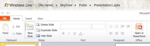 office web apps Applications Web: au final, Microsoft doublera peut être Google!