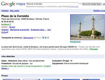 Google Places Pages
