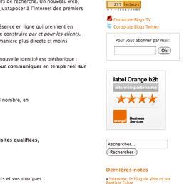 Orange distingue les meilleurs sites B2B