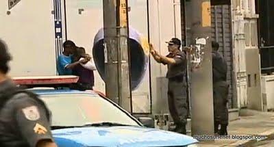 Brésil,  voleur tué par la police