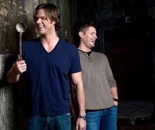 [photoshoot] Jensen Ackles et Jared Padalecki pour EW