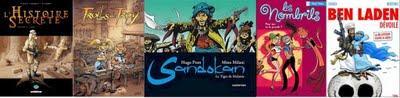 Meilleures ventes BD hebdomadaires au 27 septembre 2009