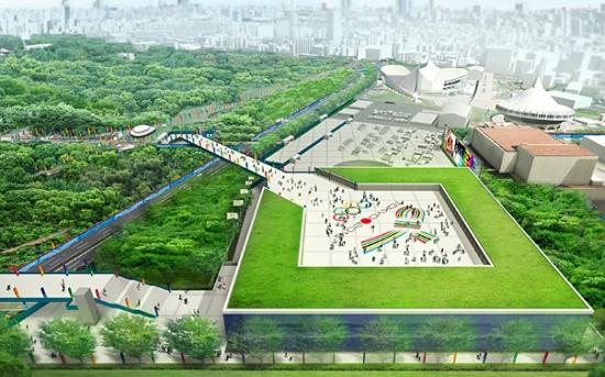 tokyo2016 1 Un stade Olympique alimentés par de lénergie renouvelable