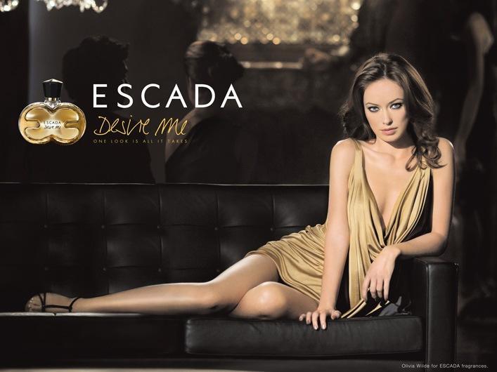 Olivia Wilde prend la pose pour la campagne Escada