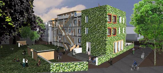 Un immeuble cologique strasbourg paperblog for Immeuble ecologique