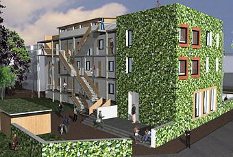 Un immeuble cologique strasbourg paperblog - Immeuble ecologique ...