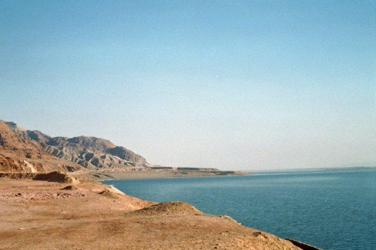 La Mer Morte...couleurs, textures, reliefs,...