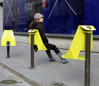 URBAN SEAT BY DAMIEN GIRES (AGENCE LE PLAN B)