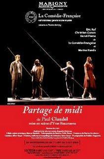Le Partage de midi de Claudel au théâtre de Marigny