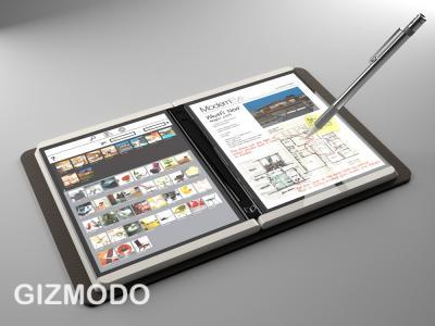 La tablette tactile Courier : Microsoft donne le mode d'emploi